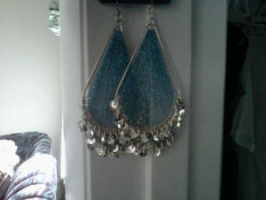 earrings for accessory of week from DOTS Clothing Store.