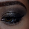 Dark smokey eyes
