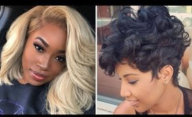 Trendy Short Hairstyle Ideas for Spring & Summer 2020 - Bob Haircuts, Twa Styling & More