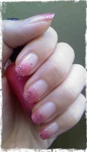 Pink Glitter Gradation :D