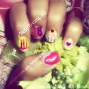 Birthday Nails ! :)