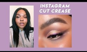 instagram cut crease eye makeup with abh norvina palette