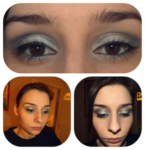 not the most beautiful pictures.. but it's about the make up..