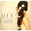 Bridal Hair Tutorial | Romantic, Curly Half-Up Hairstyles for Homecoming, Prom, Wedding