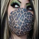 Green Leopard Eyeshadow