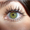 My eye color and everyday mascara