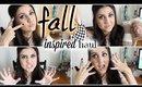 Fall inspired haul