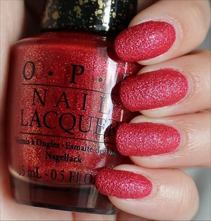 Liquid Sand from the Couture de Minnie Collection out in June. See my in-depth review and more swatches here: http://www.swatchandlearn.com/opi-magazine-cover-mouse-swatches-review/