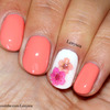 Spring/Summer Nail Design with Dry Flowers