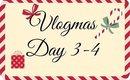 VLOGMAS Day 3-4 * Victora's Secret | Christmas Tree | Family Time