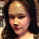 Leopard print love.