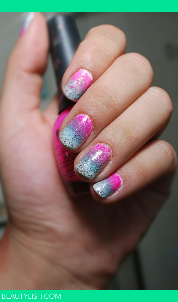 Glitter Ombre Nails Lisa Marie T S Photo Beautylish