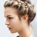 Another braided up do