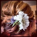 Wild Flower...by Calista Brides Hair & Makeup Artistry
