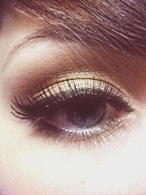 lorac gold pigment
