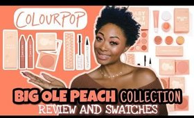 REVIEW: ColourPop Big Ole Peach Collection + Swatches
