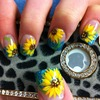 sunflower nail