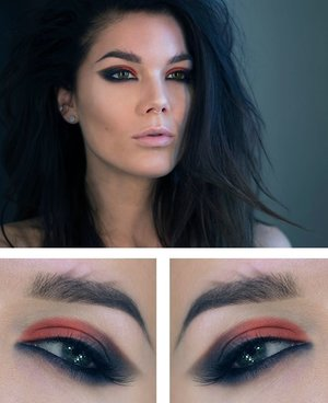 @Linda Hallberg never fails to disappoint with an original look featuring Make Up Store products. Inspired by Rihannas look from her video, Where Have You Been.