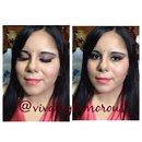 Babyshower makeup