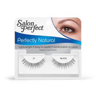 Salon Perfect 21 Black Strip Lashes
