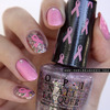 Breast Cancer Awareness Month nails