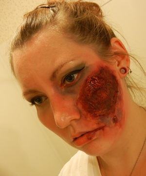Practicing some things for this Years zombie pub crawl.