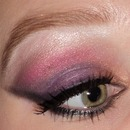 Purple Sunset Look