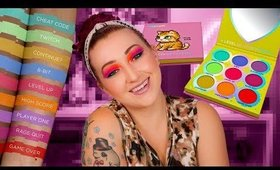 We FINALLY Have A Video Game Palette! Sugarpill Fun Size Palette Eye Swatches + Review