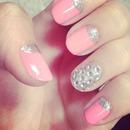 Valentines Glam Nails
