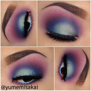 Another gorgeous look from the amazing Yumemi Sakai, this one featuring our Sasha lashes!
