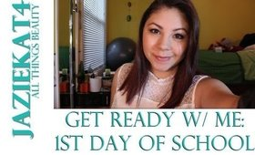 Get Ready W/ Me:1st Day of School