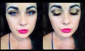 Glam Christmas Makeup - Glitter Glitter Glitter!