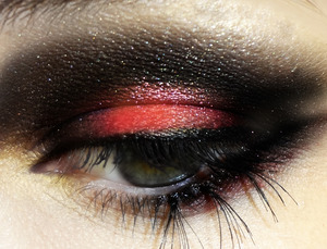 Hunger Games inspired look <3