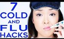 7 Cold & Flu Hacks For When You're Feeling Sick!