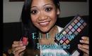 E.L.F. Review: Endless Eyes Pro Eyeshadow Palette & Studio HD Blush
