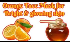 Orange Face Mask for Bright & glowing skin -