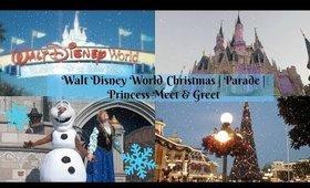 Christmas At Walt Disney World | Magic Kingdom Parade | Princess Meet & Greets