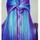 Blue/Purple Braid