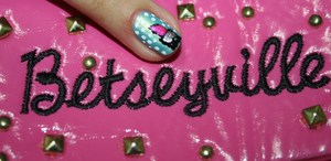 pink lipstick *BETSEY JOHNSON-INSPIRED*