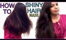 How to get Long Shiny Healthy Hair My Haircare Routine Haircare Tips Banana Hair Mask