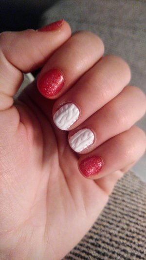 3D sweater nails