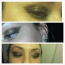 Simple Glittery Eye