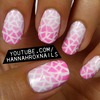 Ombre and Facet Patterned Nails