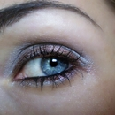 Grey and brown make up