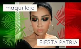 Maquillaje para fiestas patrias / FIESTA MEXICANA look   auroramakeup