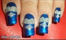 Camille La Vie - Elegant Beaded Dress inspired Nail Art