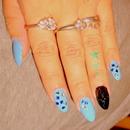 Blue Stelletto