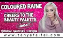 Coloured Raine Cheers To The Beauty Palette | Tutorial, Swatches, & Review, #WHOA!!! | Tanya Feifel
