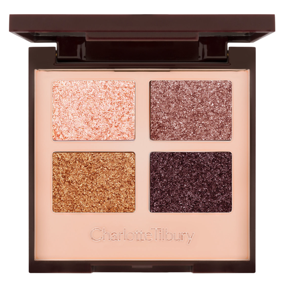 Charlotte Tilbury Luxury Palette of Pops - Celestial Eyes product swatch.