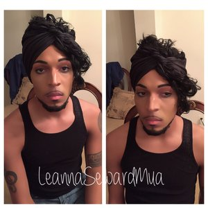 My bestfriend wanted to be Prince for a halloween party!! Crazy thing is he already looks like him, i just added a few more features .